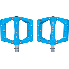 Cube RFR Flat Race Pedals blue